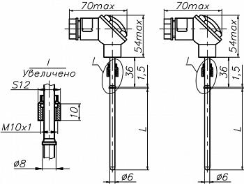 Комплекты термопреобразователей сопротивления КПТПР